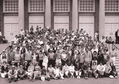 20th Reunion Group Class Photo in 1982