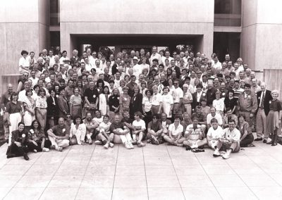 30th Reunion Class Group Photo in 1992