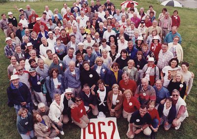 35th Reunion Group Class Photo in 1997