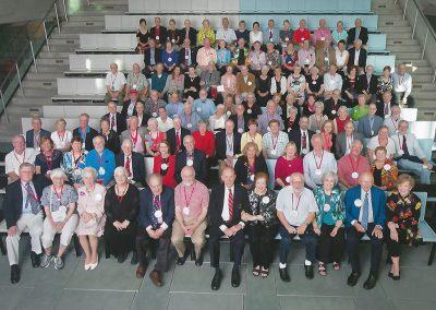 55th Reunion 2017 Group Class Photo