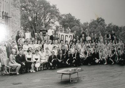 5th Reunion Group Class Photo in 1967