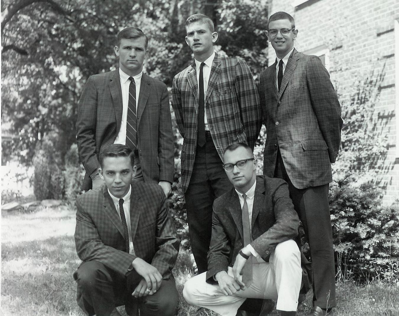 Class Officers in 1962
