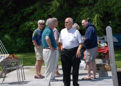 Mike Eisgrau at picnic