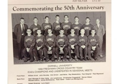 Kroch Library Exhibit X-Country team 1958