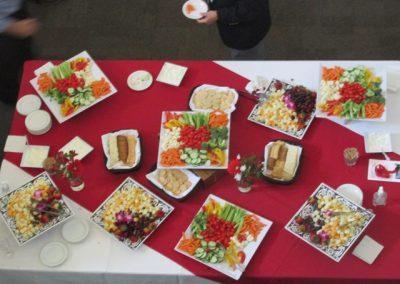 Nice table of hors doeurves