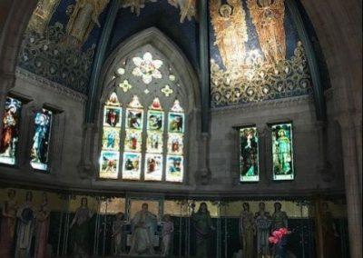 Sage Chapel interior