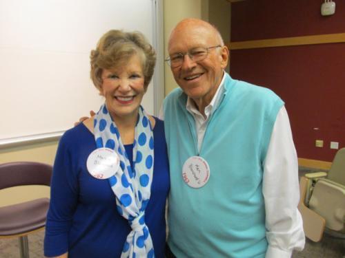 Ken and Margie Blanchard